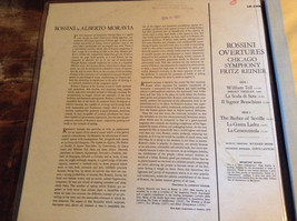 Rossini Overtures Chicago Symphony Reiner Complete with Records image 2