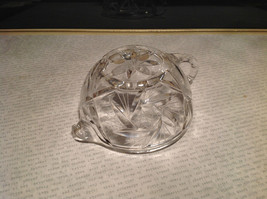 Round Small Crystal Etched Creamer image 5