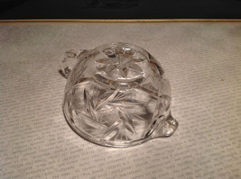Round Small Crystal Etched Creamer image 4