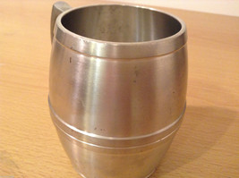 Royal Selanger Pewter Metal Silver Beer Mug with handle image 6