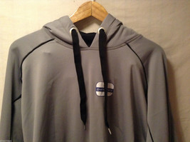 Russell Athletic Gray Hoodie Sweatshirt Front Pouch, Size XXL, Dry Power System image 3