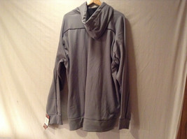 Russell Athletic Gray Hoodie Sweatshirt Front Pouch, Size XXL, Dry Power System image 2