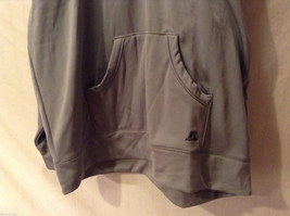 Russell Athletic Gray Hoodie Sweatshirt Front Pouch, Size XXL, Dry Power System image 4