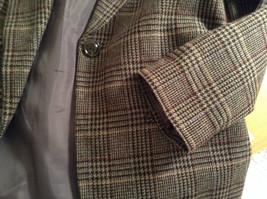 Sag Harbor Dark Gray Plaid Fully Lined Blazer Suit Jacket Size 10 Petite image 6