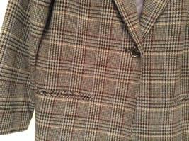 Sag Harbor Dark Gray Plaid Fully Lined Blazer Suit Jacket Size 10 Petite image 3