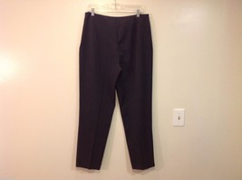 Saks Fifth Avenue label size 14 gray dress pants image 2