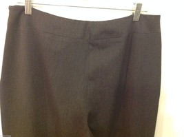 Saks Fifth Avenue label size 14 gray dress pants image 4
