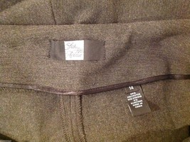 Saks Fifth Avenue label size 14 gray dress pants image 7