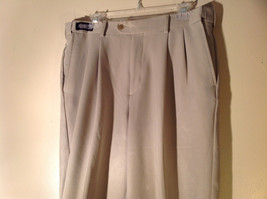 Savane Light Beige Dress Pants Comfort Plus Waistband Size 36W by 29L image 2