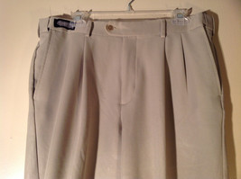 Savane Light Beige Dress Pants Comfort Plus Waistband Size 36W by 29L image 4