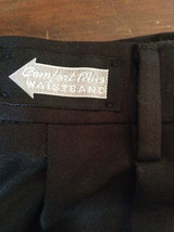 Savane Black Dress Pants  Comfort Plus Waistband Size 36W by 29L image 5