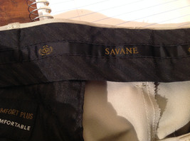 Savane Light Beige Dress Pants Comfort Plus Waistband Size 36W by 29L image 7
