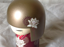 Satoko Sincerity Gold Hair Maroon Dress Flower Kimmi Maxi Doll Asian Style image 5