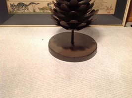 Seagull Studios Metal Pine Cone Tree Candle Holder image 2