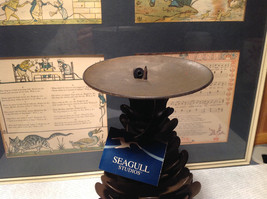Seagull Studios Metal Pine Cone Tree Candle Holder image 4