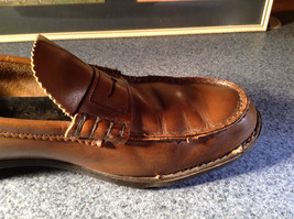 Sebago Classic Leather Loafers Size 11 See Pictures image 11