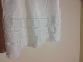 Sears Long Length Cream Slip Lace Design at Bottom Elastic Waistband Size Medium image 2