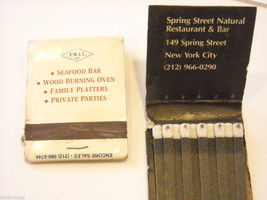 Set of 12 matchbooks from NYC Bars and Restaurants image 6