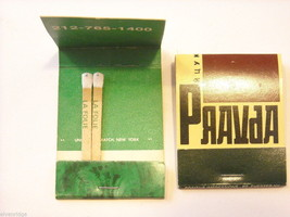 Set of 12 matchbooks from NYC Bars and Restaurants image 8