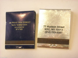 Set of 12 matchbooks from NYC Bars and Restaurants image 10