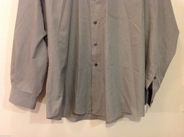 Savile Row Gray Easy Care Classic Shirt, Size 16 (34/35) image 4