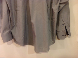 Savile Row Gray Easy Care Classic Shirt, Size 16 (34/35) image 6