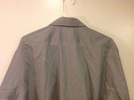 Savile Row Gray Easy Care Classic Shirt, Size 16 (34/35) image 5