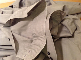 Savile Row Gray Easy Care Classic Shirt, Size 16 (34/35) image 8
