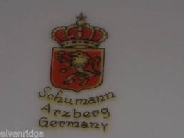 Schumann Arzburg Germany vintage triangular dish roses image 6