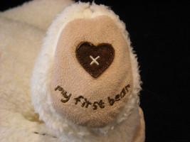 Set of 3 White Stuffed Bear Toys image 5