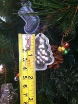 Set of 6 Christmas Themed Mini Mold Ornaments image 5