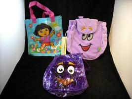 Set of 3 Dora The Explorer Themed Children's Bags image 2
