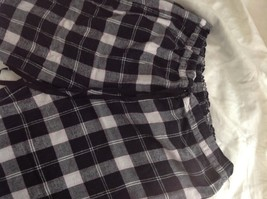 Set of Two Nautica Sleepwear 100 Percent Cotton Size Large Pajama Pants Plaid image 3