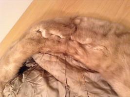 Short Mink Coat Sand Gold Extra Fur Hem on Sleeves No Tags Measurements Below image 5