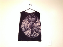 Shop Therapy One Size Fits Most Black Sleeveless Top Web Designs Front and Back image 2