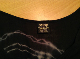 Shop Therapy One Size Fits Most Black Sleeveless Top Web Designs Front and Back image 5