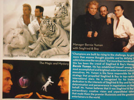 Siegfried and Roy Collectors Edition of M Lifestyle image 12