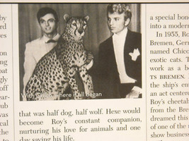 Siegfried and Roy Collectors Edition of M Lifestyle image 9