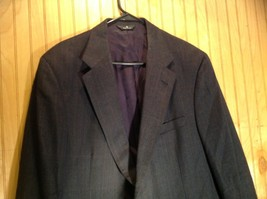 Signals Donald Brooks Black Sport Coat All Virgin Wool Made in USA No Size Tag image 2