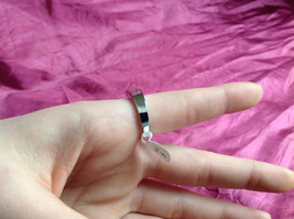 Silver Rhodium and  CZ Stone  Ring  Square Cut Stones with Large Stone Size 8 image 7