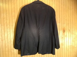 Signals Donald Brooks Black Sport Coat All Virgin Wool Made in USA No Size Tag image 4