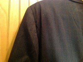 Signals Donald Brooks Black Sport Coat All Virgin Wool Made in USA No Size Tag image 5