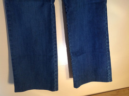 Side Closure Wide Leg Blue Jeans by Ninety Jeans Size 10 image 3