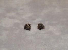 Silver Cute Fish Stud Earrings image 5
