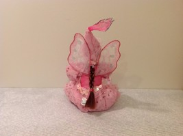 Sitting Pink Fairy Ceramic Face Body Hat Wand Long Hair image 3