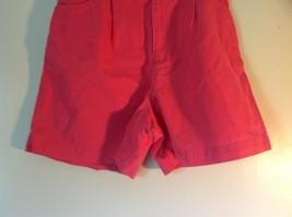 Size 10 Bright Pink Liz Claiborne Liz Sport 100 Percent Cotton Shorts image 3