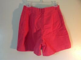 Size 10 Bright Pink Liz Claiborne Liz Sport 100 Percent Cotton Shorts image 4