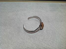 Silver Tone Geo Jewelry Bracelet  with Dark Spots picture jasper image 5