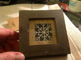 Simple snowflake  Paper Cutting scherenschnitte fraktur image 3