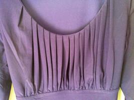 Simple Yet Elegant Three Quarter Length Purple Dress NEW with Tag Size 12 image 5